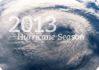 Hurricane activity is forecast to increase in 2013!