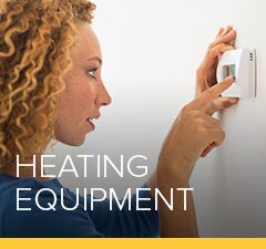 a petro customer using the heating equipment in her home
