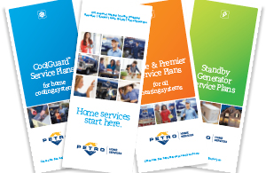 petro home services brochures