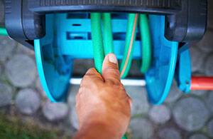 Make sure to drain water from any hoses or pipes outside your house