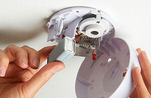 Test all safety devices such as smoke alarms