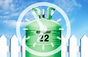 R22 Refrigerant Replacement graphic