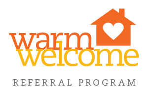 warm welcome referral plan