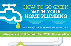 Go green with your home plumbing