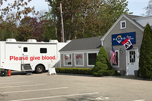 Petro Home Services in York, ME blood drive success helps save lives.