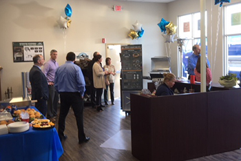 Ribbon Cutting Show Room