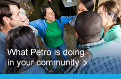 What Petro is doing in your community