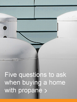 Propane questions to ask