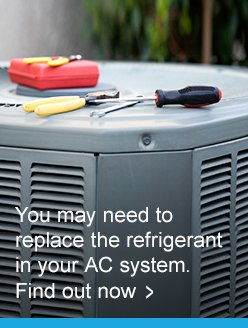 Replace your refrigerant